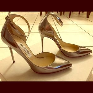 Jimmy Choo Lucy 100 Mirror Leather
